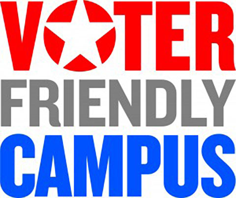 Voter Friendly Campus logo