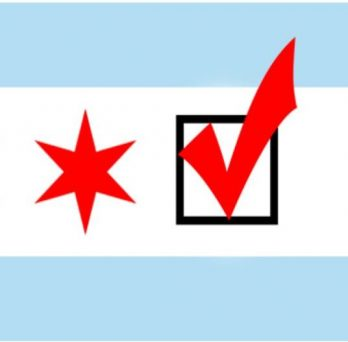 Chicago Flag - Vote