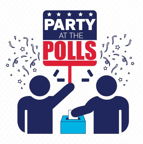 Party at the Polls - Logo (2019)