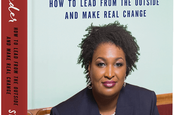 Image of cover of Stacey Abrams' book