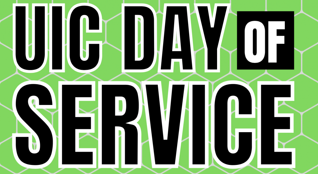 UIC Day of Service Header.