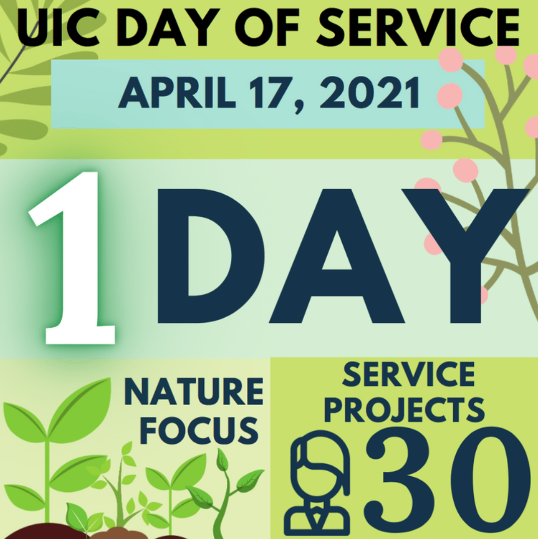 UIC Day of Service Infographic
